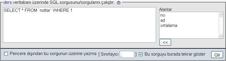 sql_sayfa