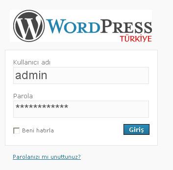 wordpress-giris1