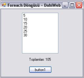 foreach dahiweb